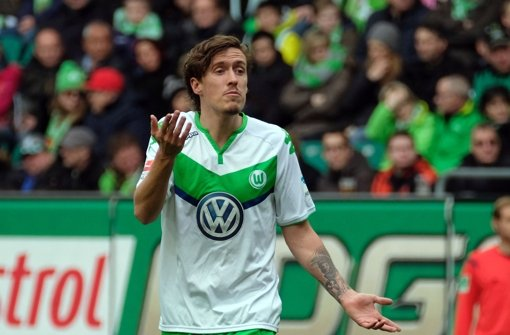 Max Kruse steht aktuell am medialen Pranger und wurde aus der Nationalmannschaft verbannt. Foto: dpa
