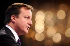 ... der britische Premier David Cameron sowie ... Foto: dpa