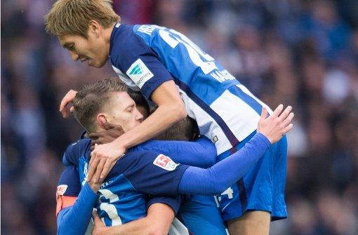Hertha rückt auf den Rang 2 vor