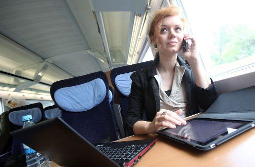 Immer mehr Beschäftigte arbeiten von unterwegs