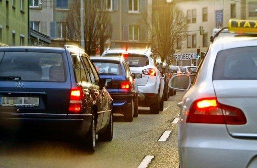 Deutlich mehr Verkehr in der Talstraße
