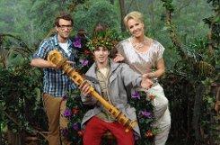 Er verbuchselte die Wechstaben und war auch sonst rührend unbedarft: Joey Heindle ist der neue Dschungelkönig. Die schönsten Bilder aus zwei Wochen Dschungelcamp sehen Sie hier! Foto: Rtl/Stefan Menne