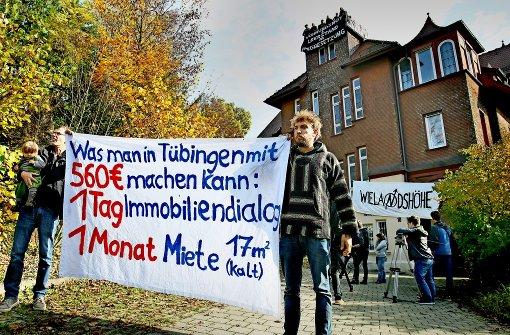 Hausbesetzung in Tübingen endet am Sonntag
