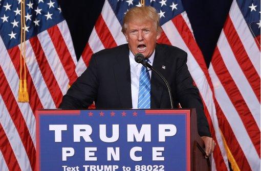 Trump fordert illegale Einwanderer zur Ausreise auf
