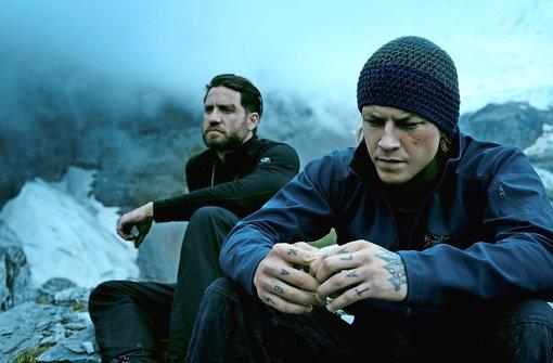 """Satte Action, wenig Tiefe: Edgar Ramírez  und Luke Bracey in """"Point Break"""" Foto: Concorde"""