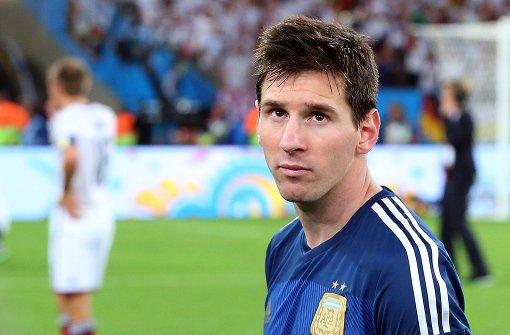 Lionel Messi ist total enttäuscht
