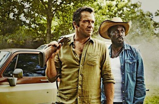 Zwei Männer aus Texas