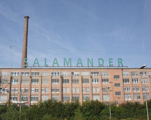 lowest price d23ed 5a15a Wohnungen und Gewerbe: Neue Pläne für Salamander-Areal ...
