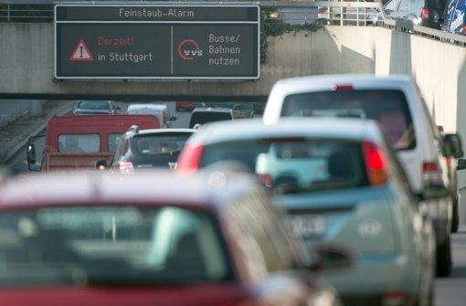 Appell an  Autofahrer: Dadurch wurde bisher kaum  Verkehr vermieden Foto: dpa