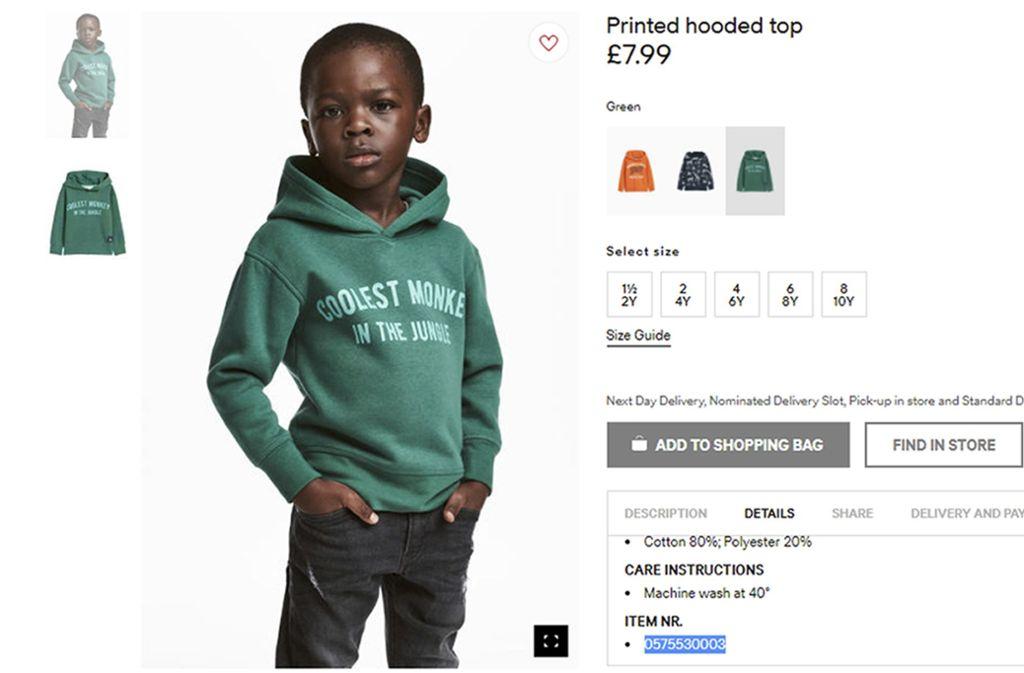 Rassismus Vorwurf Gegen Hm Empörung Im Netz über Farbigen Jungen