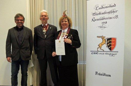 Ehrennadel für Anita Rösslein