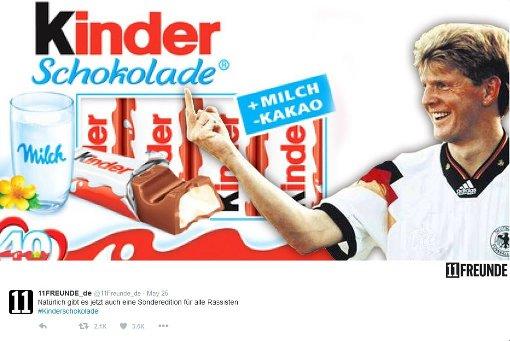 Twitter-User kreieren Pegida-Schokolade