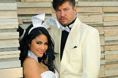 Die Hochzeit von Mia Gray und Oliver Burghart in den USA.p Foto: Dolz & Burghart