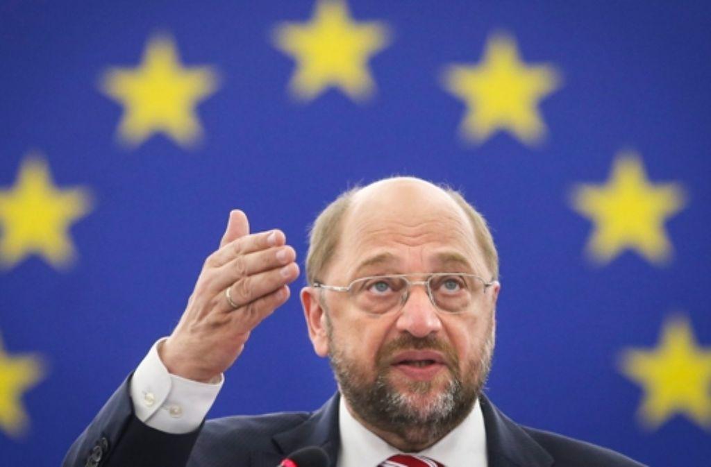 Martin Schulz Brüssel