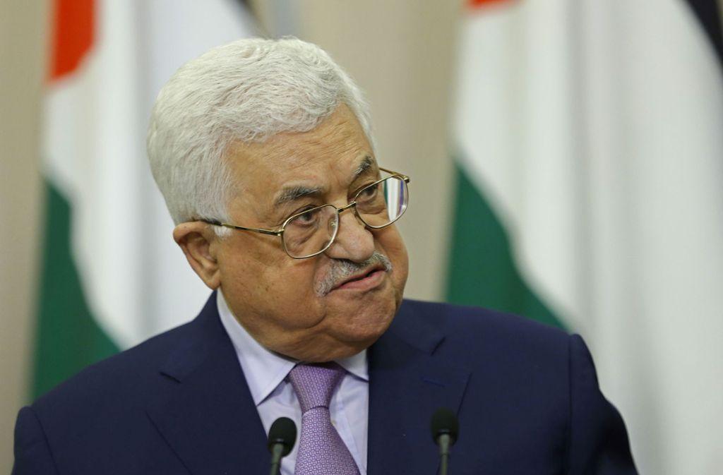 Gesundheitsprobleme: Palästinenser-Präsident Abbas erneut im Krankenhaus