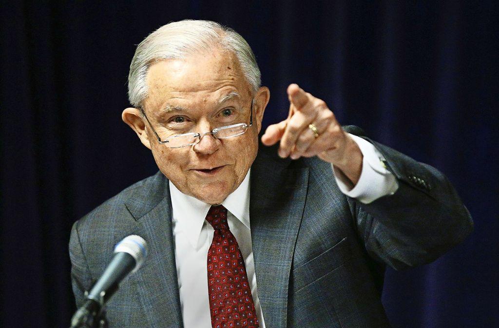 Justizministerium Der Vereinigten Staaten
