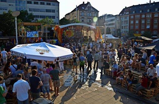 Vier Tage Livemusik und Party auf dem Marienplatz