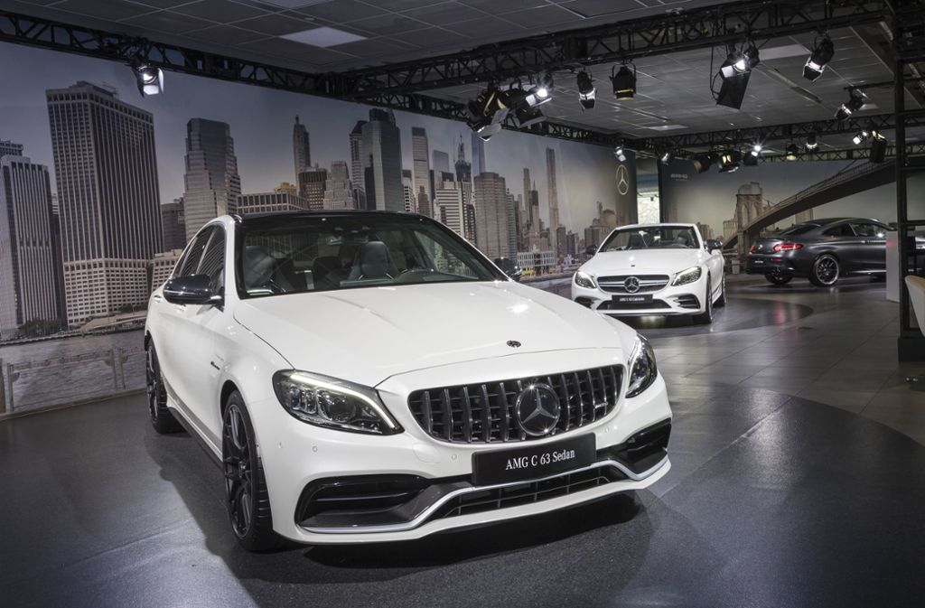 Der neue Mercedes-AMG C 63 Sedan feierte in New York Premiere.