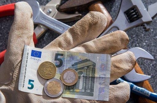 Mindestlohn steigt an