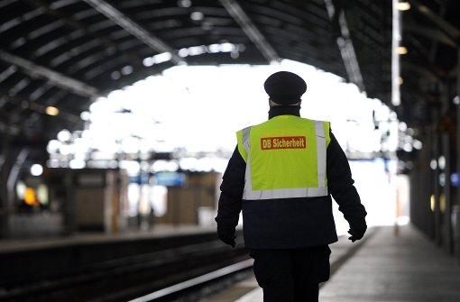 Bahn: Mehr Sicherheitskräfte in nächsten Jahren