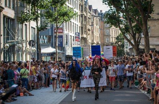 Der Christopher Street Day macht Stuttgart bunt
