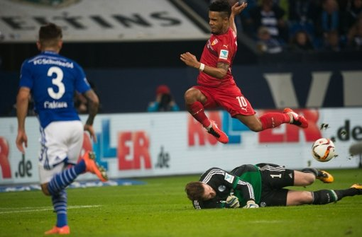 Daniel Didavi und der VfB Stuttgart haben bei Sonntagsspiel auf Schalke einen Punkt geholt. Wir haben die Stimmen zum Spiel. Foto: dpa