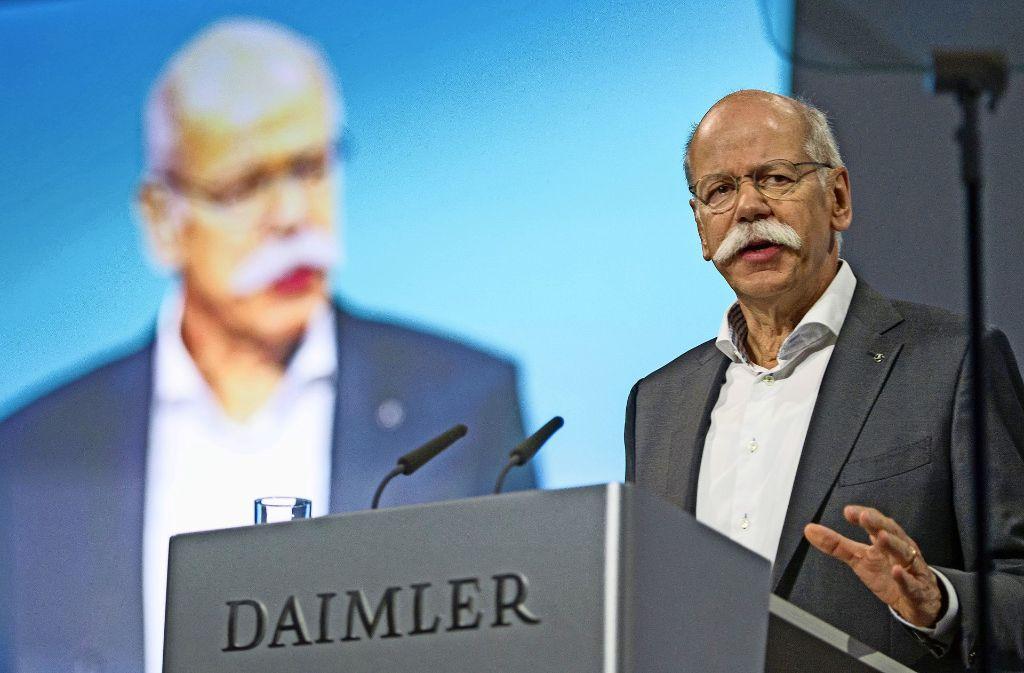 Daimler-Aufsichtsratschef: Manfred Bischoff Kann Sich