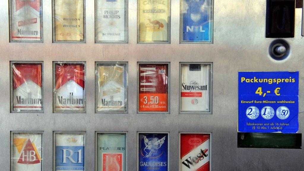 Der zigarettenautomat app in nähe ▷ POL