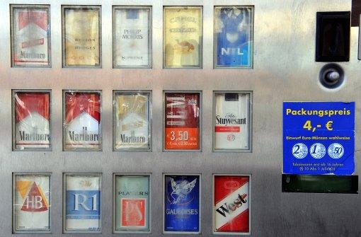 Zigarettenautomaten verschwinden spurlos