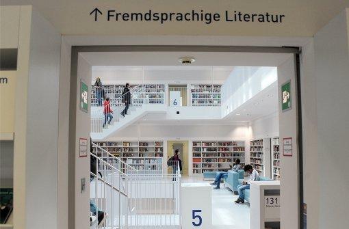 Die Stadtbibliothek boomt