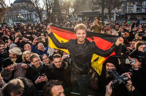 Rosberg kommt nach Sindelfingen