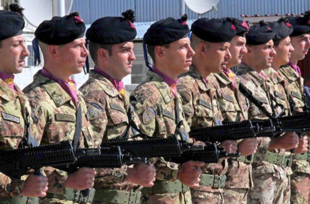 Italien Militär