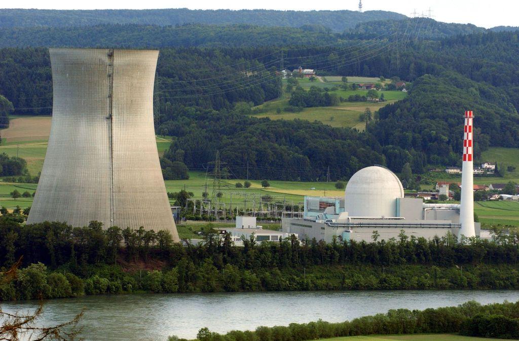 Atommeiler Leibstadt Schweizer Akw An Deutscher Grenze