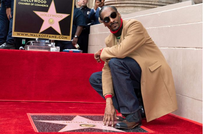 Walk of Fame in Hollywood: Snoop Dogg gratuliert sich selbst
