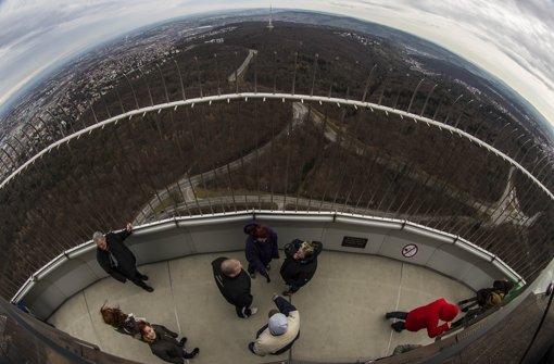 Seit Samstag wieder für alle geöffnet: die Plattform des Fernsehturms. Foto: Lichtgut/Leif Piechowski