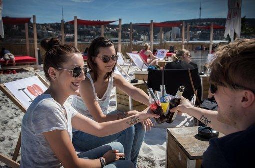 Die schönsten Biergärten, Strandbars und Terrassen