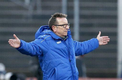 Trainer Meier beurlaubt