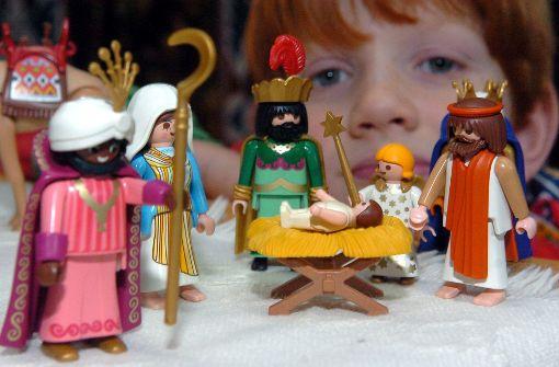 Krippen und Weihnachtsgeschichten