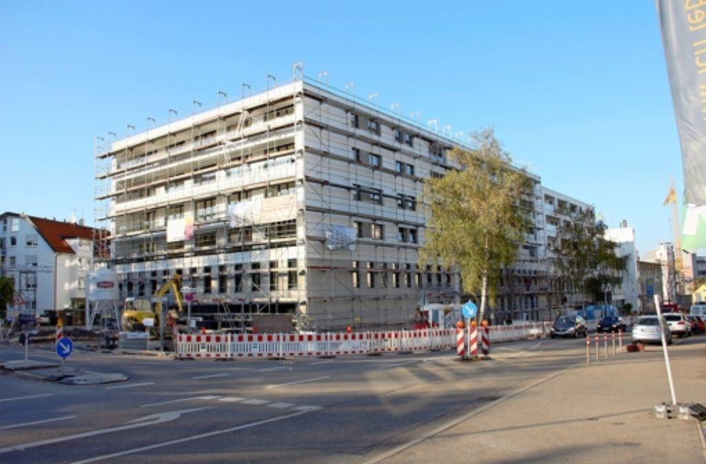 maybach quartiere in feuerbach: die ersten mieter sind eingezogen