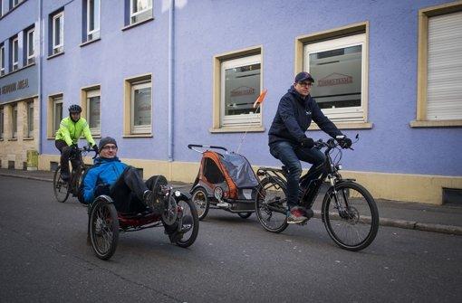 Viele Stolperfallen für Radfahrer im Kessel
