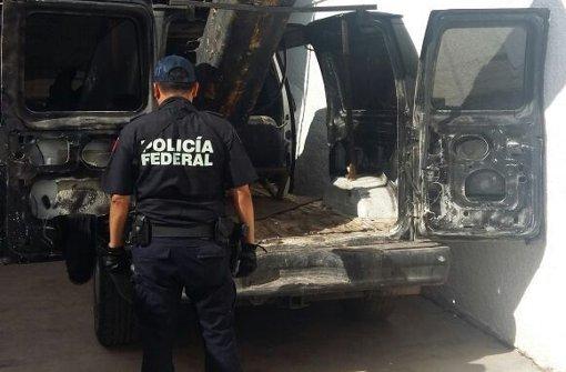 Polizei entdeckt Drogen-Abschussrampe