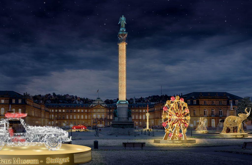 Tourismus in Stuttgart: Weihnachtslichter für Millionen - Stuttgart ...