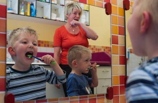 Richtig Zähneputzen: Rütteln statt kreisen