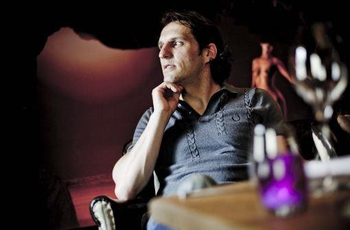 Michael Zeyer in seinem Restaurant 5 kann sich über einen Michelin-Stern freuen. Foto: Leif Piechowski