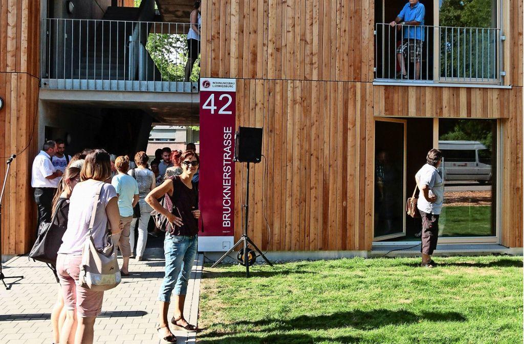 Streit über Holzbauten In Ludwigsburg Cubes Nicht Nur Für