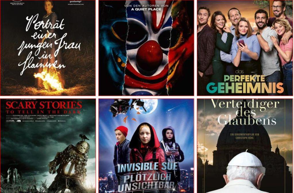 Filmstarts Oktober