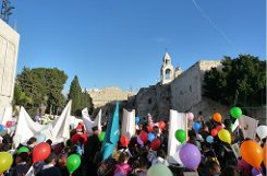 Klicken Sie sich durch die Impressionen aus Betlehem. Foto: Welzhofer