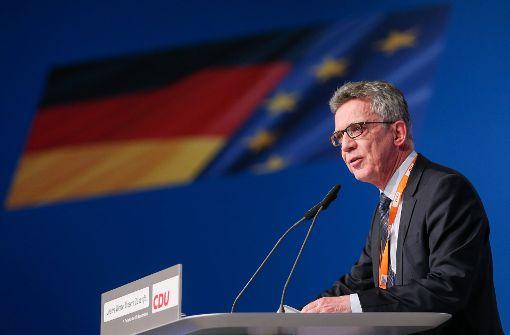 De Maizière neu ins Präsidium gewählt