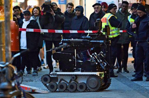 S Bahn Polizeieinsatz