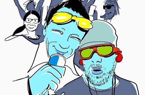 """Party bis in den frühen Morgen Das Shirt von Hollister oder Abercrombie & Fitch, die Brille von Oakley, dazu eine lederne Bikerjacke mit Nieten wie Bill Kaulitz in """"DSDS"""" - eine Niete ist man mit einem solchen Outfit in den angesagtesten Après-Ski-Bars keineswegs. Aber man kann dort halt auch nicht in irgendwelchen Klamotten daherkommen und ein olles Klapp-Handy auf den Tisch legen, dann ist es schon vorbei. Für junge Partylöwen und Partylöwinnen ist ein Snowboard-Urlaub in einem trendy Skiort kein Vergnügen, sondern harte Arbeit. Nach einem langen Tag auf der Piste bleibt kaum Zeit zum Chillen - denn sich für den noch längeren Abend aufzubrezeln, kostet Zeit, viel Zeit. Und da ist dann nix mit zeitig schlafen gehen. Jede Nacht feiern bis in die Morgenstunden und permanent Fotos davon bei Facebook hochladen - das schafft man höchstens bis Mitte/Ende zwanzig. Foto: Michael Luz"""